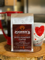 Ground Mushroom Coffee - Red Reishi & Turkey Tail / BOOST IMMUNITY & FOCUS