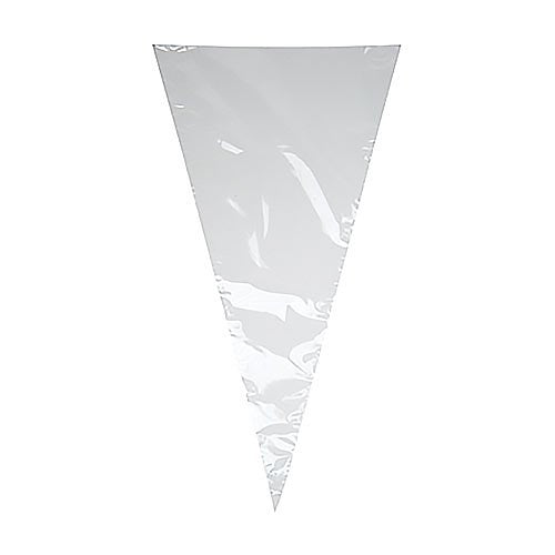 Candy Cones Clear Bags - 18cm x 37cm - 1000 Count