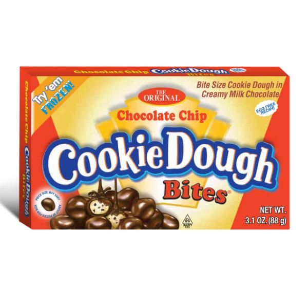 Chocolate Chip Cookie Dough Bites 88g Theatre Box