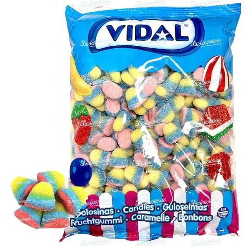 Vidal Tropical Rainbow Drops - 2kg Bulk Bag