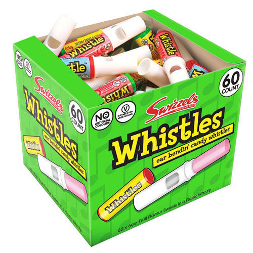 Candy Whistles - 60 Count