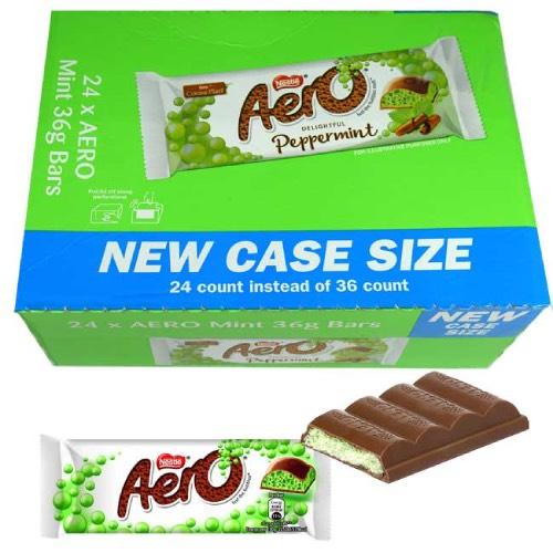 Nestle Aero Peppermint - 24 Count
