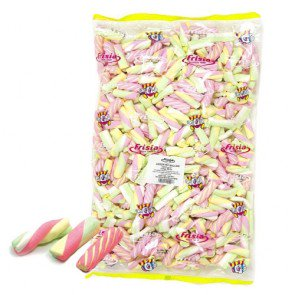Mini Marshmallow Assorted Mix - 1kg Bulk Bag