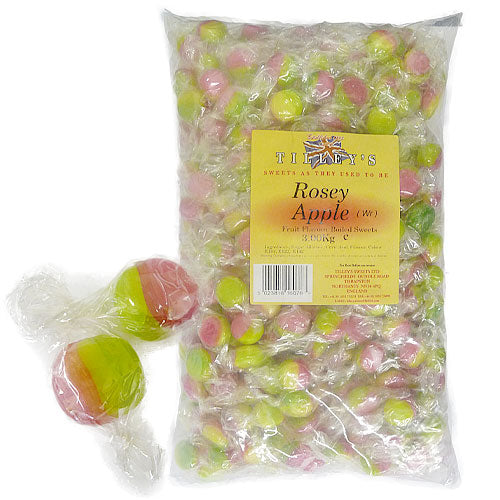 Rosey Apples Wrapped - 3kg Bulk Bag