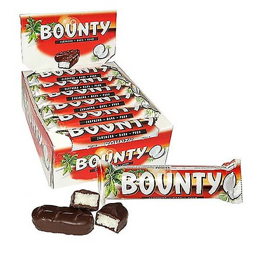 Mars Dark Chocolate Bounty - 24 Count