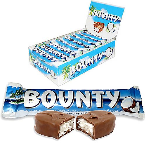 Mars Milk Chocolate Bounty - 24 Count