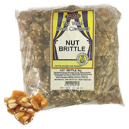 Brays Peanut Nutty Brittle - 3kg