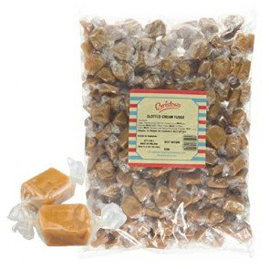 Clotted Cream Fudge Wrapped - 3kg Bulk Bag