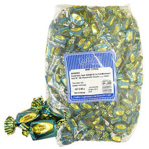 Bristows Wrapped Mint Toffees - 3kg