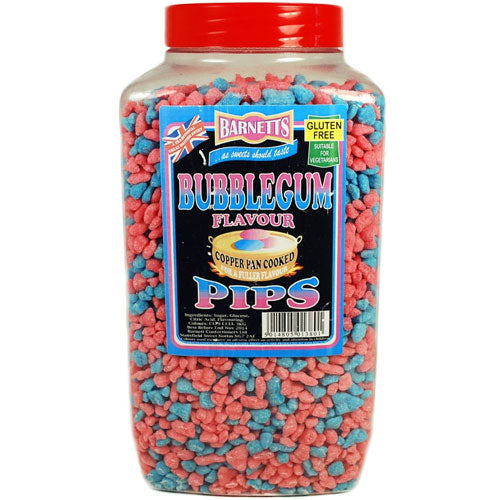 Barnetts Bubblegum Pips - 3kg Jar