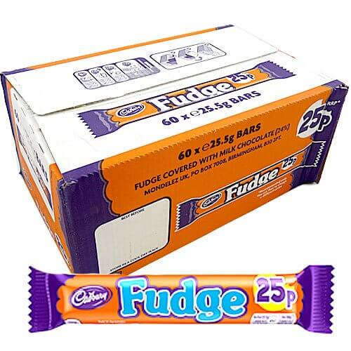 Cadbury Fudge Bars - 60 Count