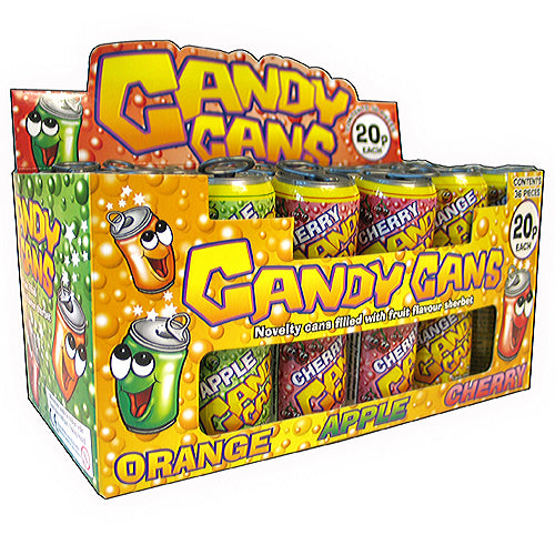 Candy Cans - 36 Count