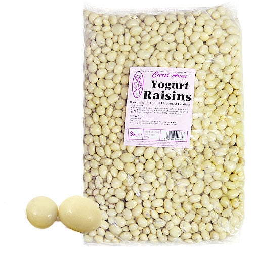 Yogurt Raisins - 3kg Bulk Bag