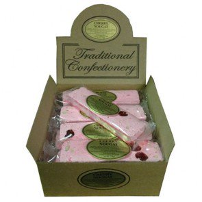 Stanton Traditional Cherry Nougat Bars - 16 Count