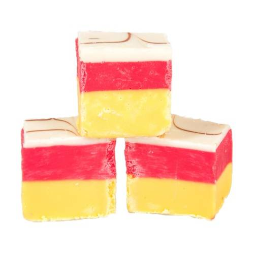 Cherry Bakewell Fudge - 250g Bag