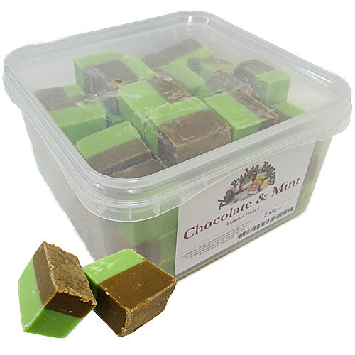 Fudge Factory Chocolate & Mint Fudge - 2kg
