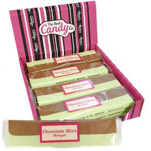 Candy Co Chocolate Mint Nougat - 12 Count