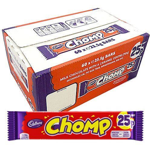 Cadbury Chomp - 60 Count