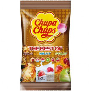 Chupa Chups Best Of Lollipops - 120 Count