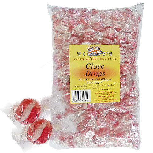 Clove Drops Wrapped - 3kg Bulk Bag