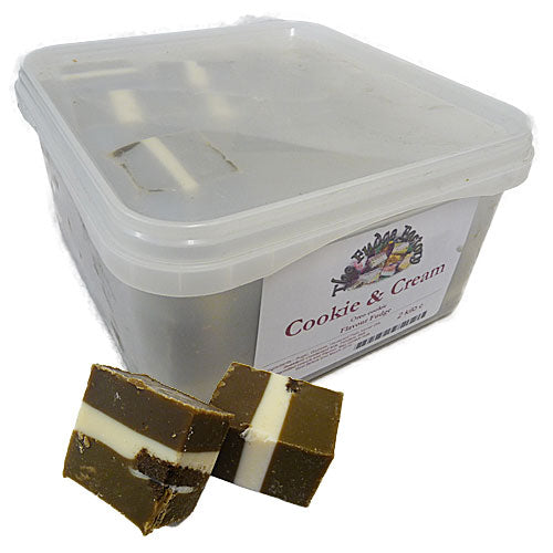 Fudge Factory Oreo Cookie Fudge - 2kg