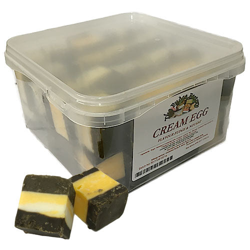 Fudge Factory Cream Egg Fudge - 2kg