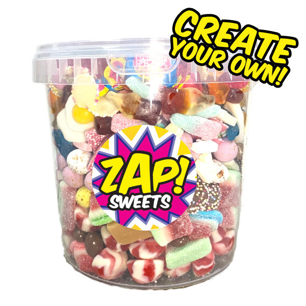 Create Your Own Sweets Bucket - Over 1.75kg