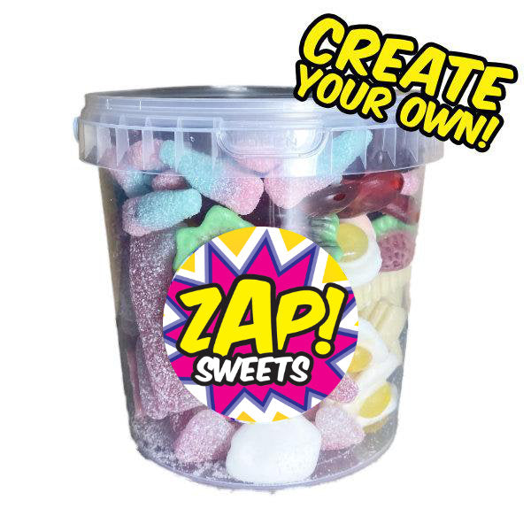 Create Your Own Mini Sweets Bucket