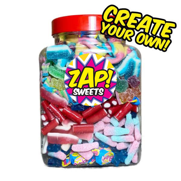 Create Your Own Sweets Shop Jar