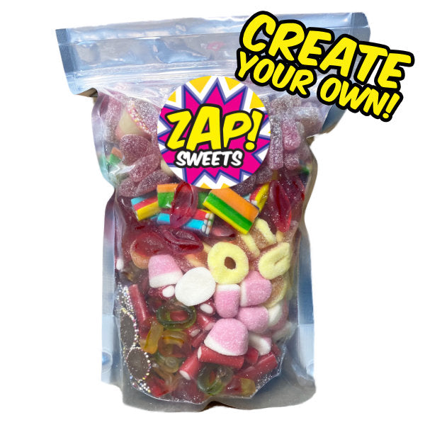 Create your own pick n mix sweets pouch