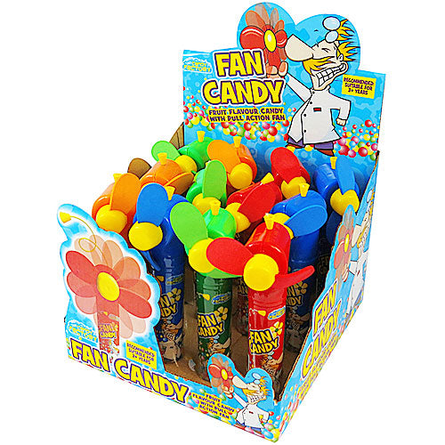 Candy Factory Candy Fan - 12 Count
