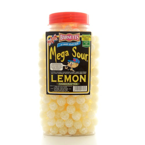 Barnetts Mega Sour Lemon