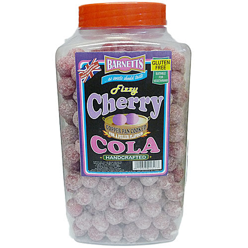 Barnetts Fizzy Cherry Cola - 3kg Jar