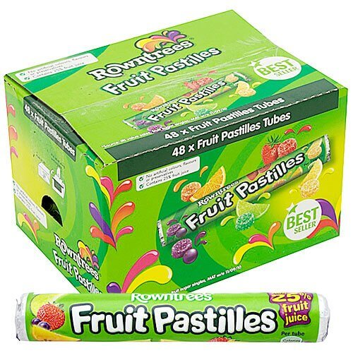 Nestle Rowntrees Fruit Pastilles - 32 Count