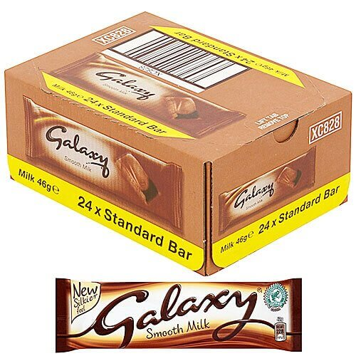 Mars Galaxy Milk Chocolate Bars - 24 Count