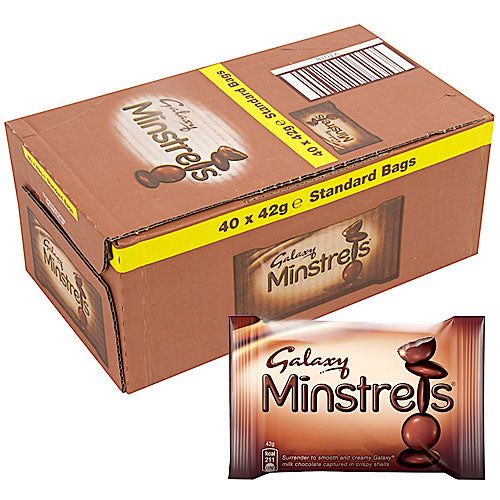 Mars Galaxy Minstrels - 40 Count