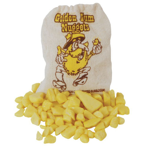 Golden Gum Bubblegum Nuggets Bags 20g