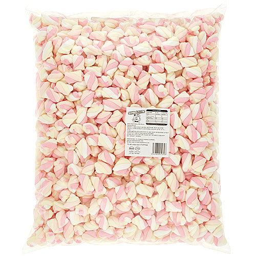 Halal Mini Twist Marshmallows - 1kg