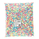 Halal Micro Multicoloured Marshmallows - 1kg