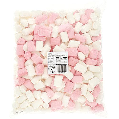 Halal Mighty Pink & White Marshmallows - 1kg