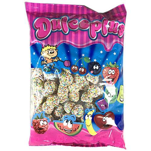 Dulce Plus Halal Multicolour Berries - 1kg Bulk Bag