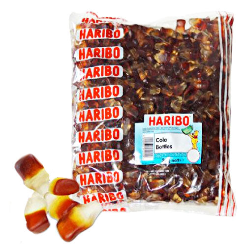 Haribo Cola Bottles - 3kg Bulk Bag