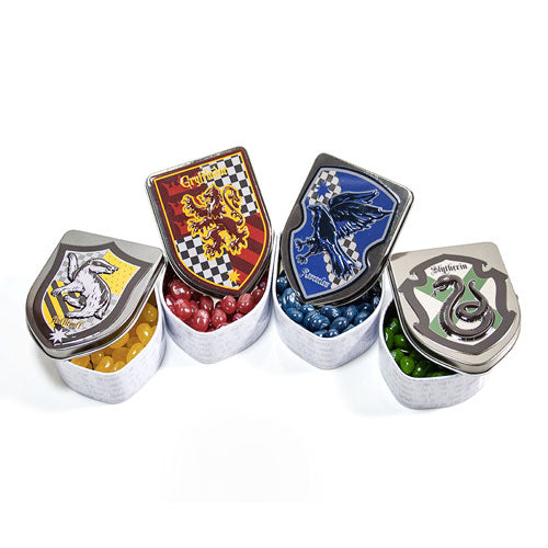 Harry Potter Crest Jelly Bean Tins - 12 Count