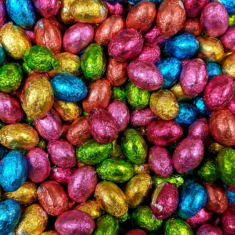 Chocolate Foiled Eggs