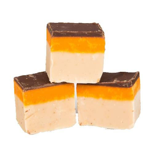 Jaffa Cake Fudge - 250g Bag