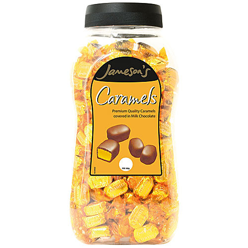 Jamesons Milk Chocolate Caramels - 1.5kg Jar
