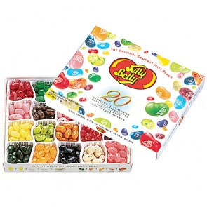 20 Flavour Jelly Belly Beans - 250g Gift Box