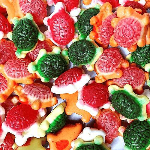 Jelly Filled Turtles - 250g Bag