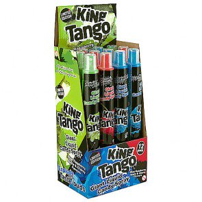 King Tango Assorted Spray Candy - 12 Count
