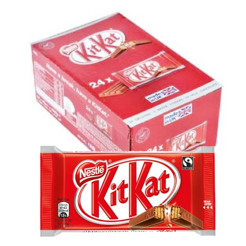 Nestle Kit Kat 4 Finger - 24 Count